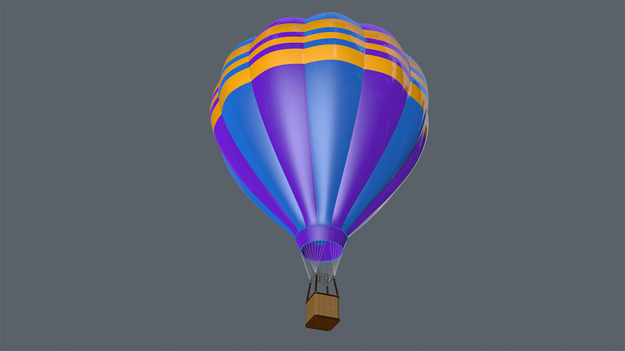 globo aerostatico cinema 4d