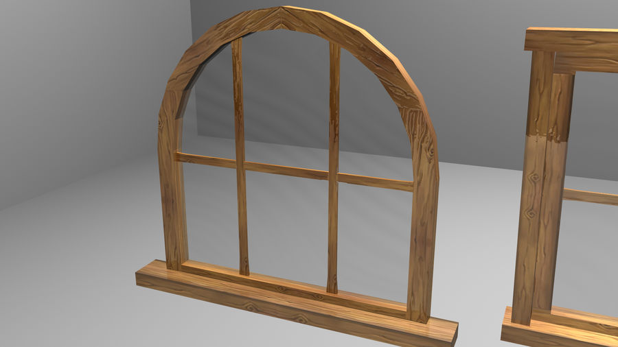 Set of 3 Windows royalty-free 3d model - Preview no. 5