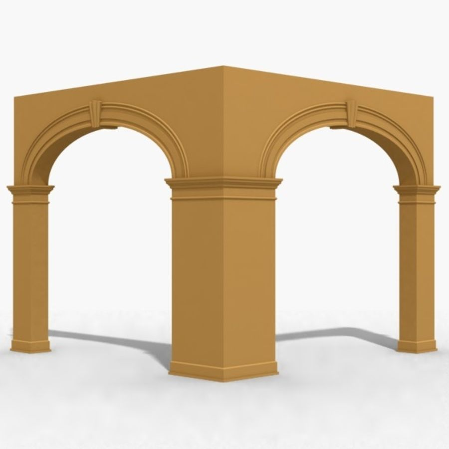 Arch 006 10ft - C1X1 royalty-free 3d model - Preview no. 1