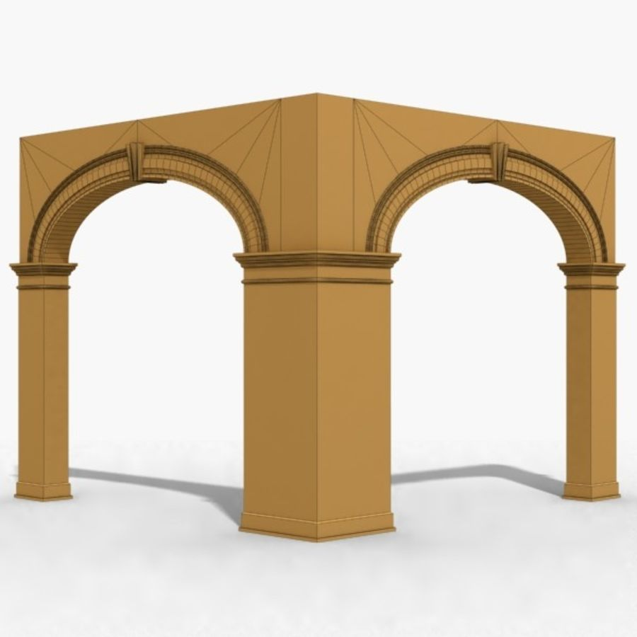 Arch 006 10ft - C1X1 royalty-free 3d model - Preview no. 7