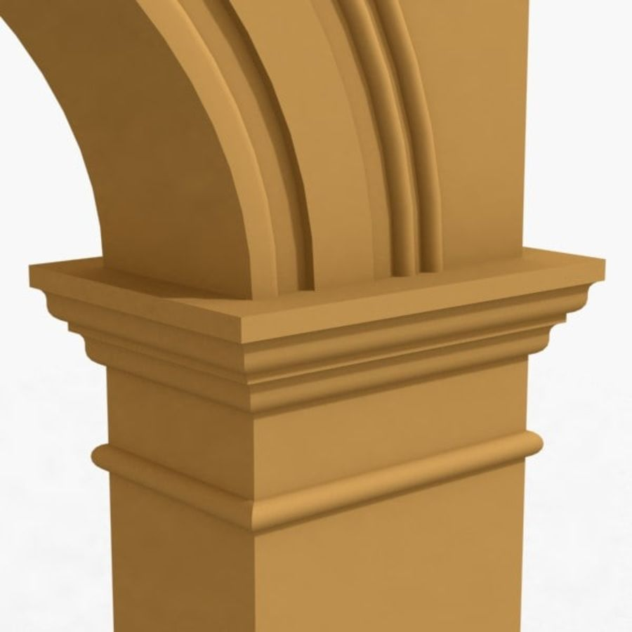 Arch 006 10ft - C1X1 royalty-free 3d model - Preview no. 5