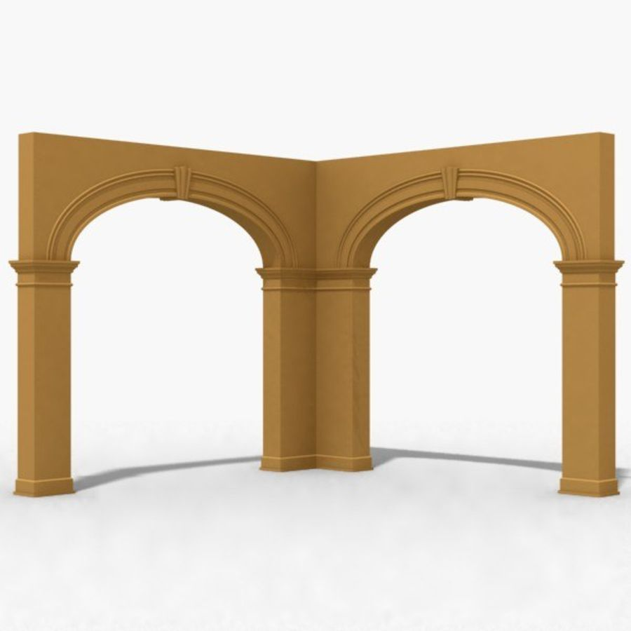 Arch 006 10ft - C1X1 royalty-free 3d model - Preview no. 2