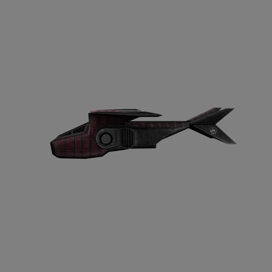Albatros royalty-free 3d model - Preview no. 3