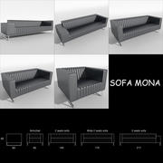 Sofa Mona 3d model