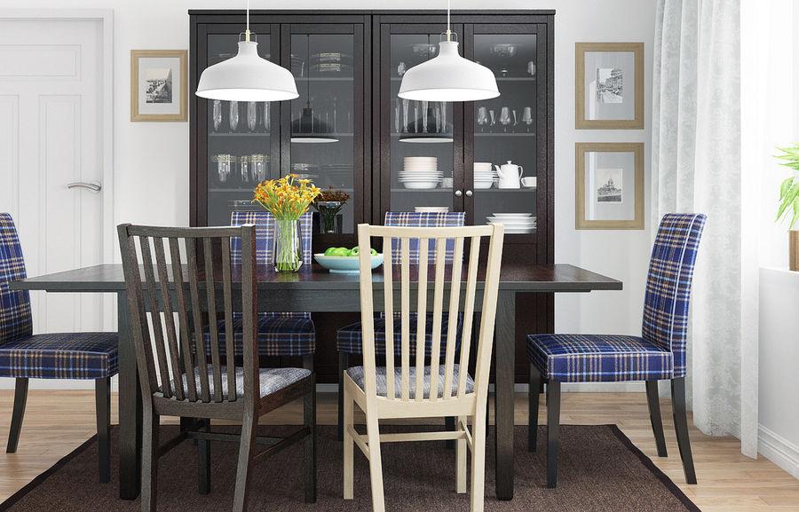 IKEA HENRIKSDAL Dining Room 3d Model