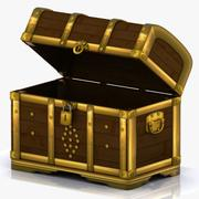 Crate Chest 4 3d model