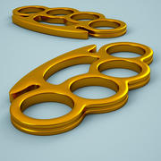 Brass Knuckles 02 3d model