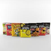 Chips-Lays-Doritos-Cheetos-Éerezza 3d model