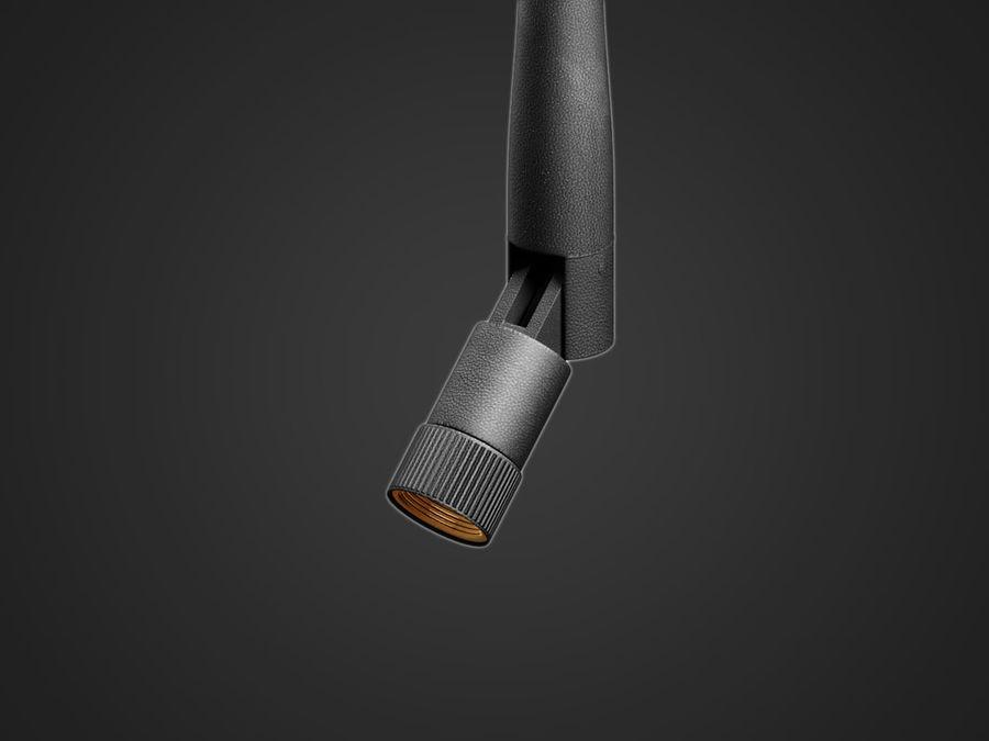 Wi-fi antena royalty-free 3d model - Preview no. 3