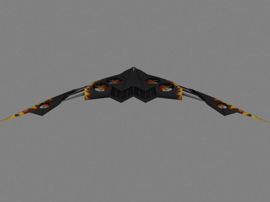 Gadfly royalty-free 3d model - Preview no. 3