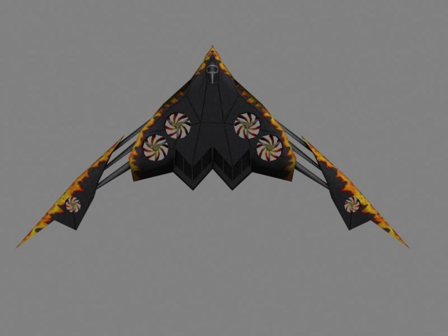 Gadfly royalty-free 3d model - Preview no. 2
