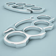 Brass Knuckles 03 3d model