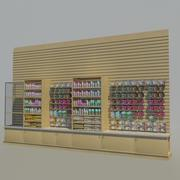 Animal Merchandise Wall 01 3d model