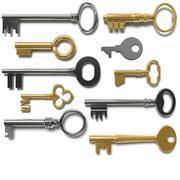 10 Keys 3d model