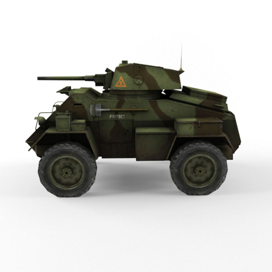 Humber royalty-free 3d model - Preview no. 2