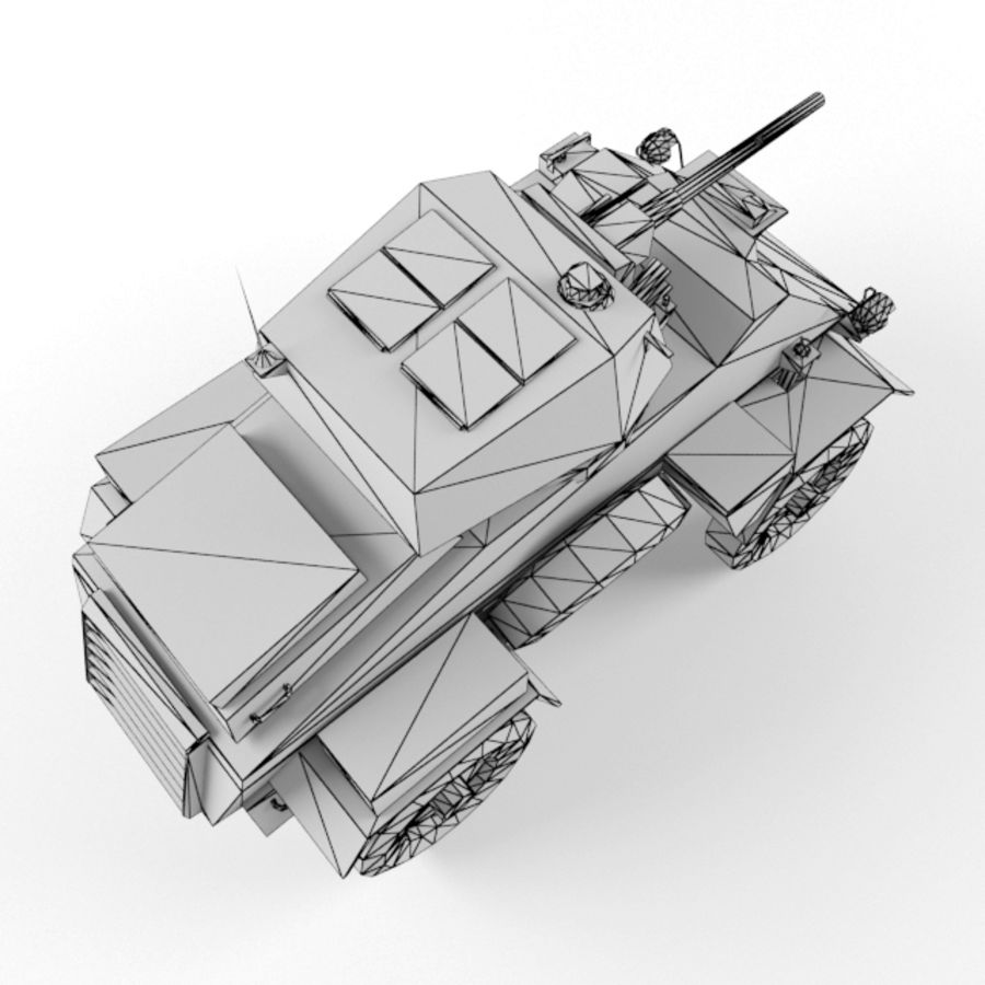 Humber royalty-free 3d model - Preview no. 11