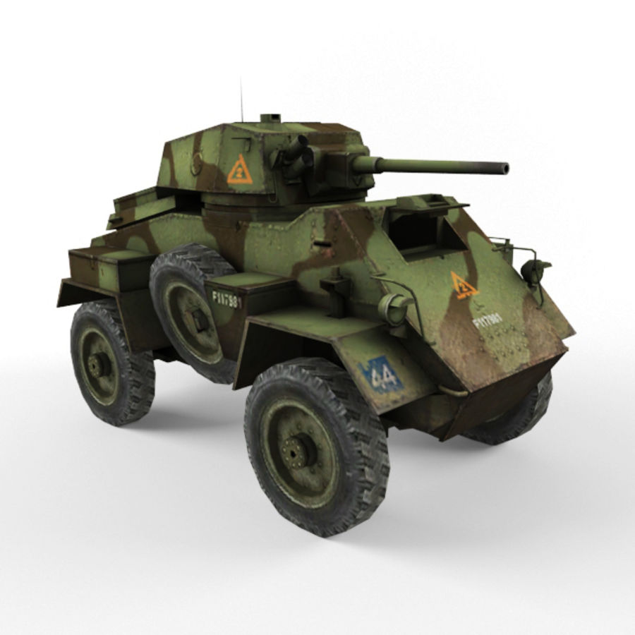 Humber royalty-free 3d model - Preview no. 7