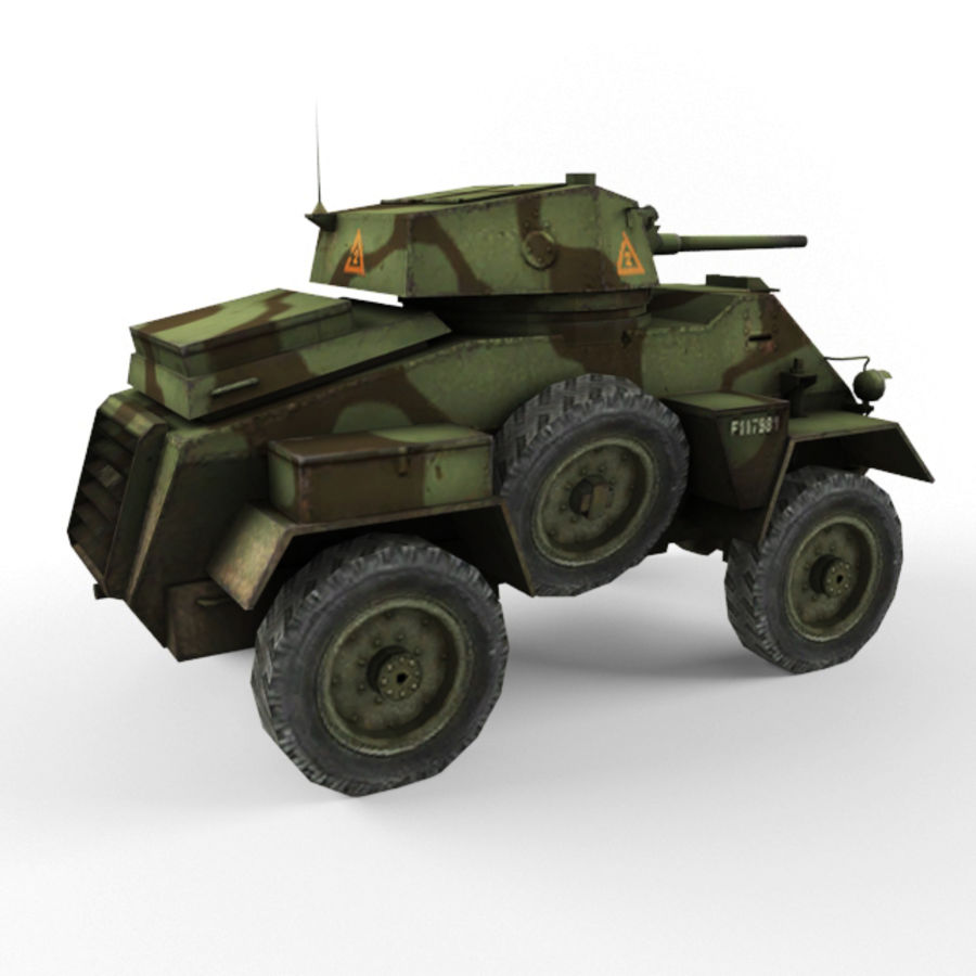 Humber royalty-free 3d model - Preview no. 5