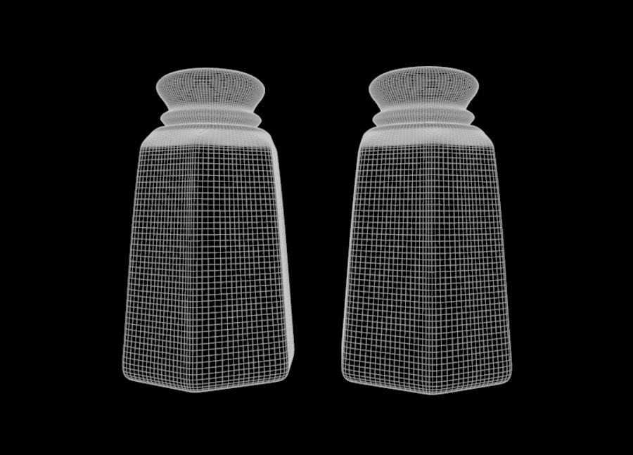 Salt & Pepper Shakers royalty-free 3d model - Preview no. 6