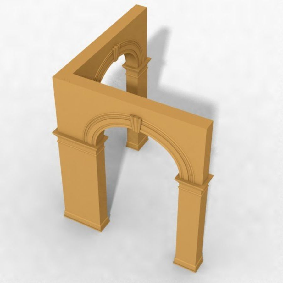 Arch 006 6ft - C1X1 royalty-free 3d model - Preview no. 2