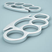 Brass Knuckles 01 3d model