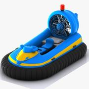 Cartoon Hovercraft 2 3d model