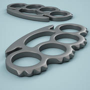 Brass Knuckles 04 3d model