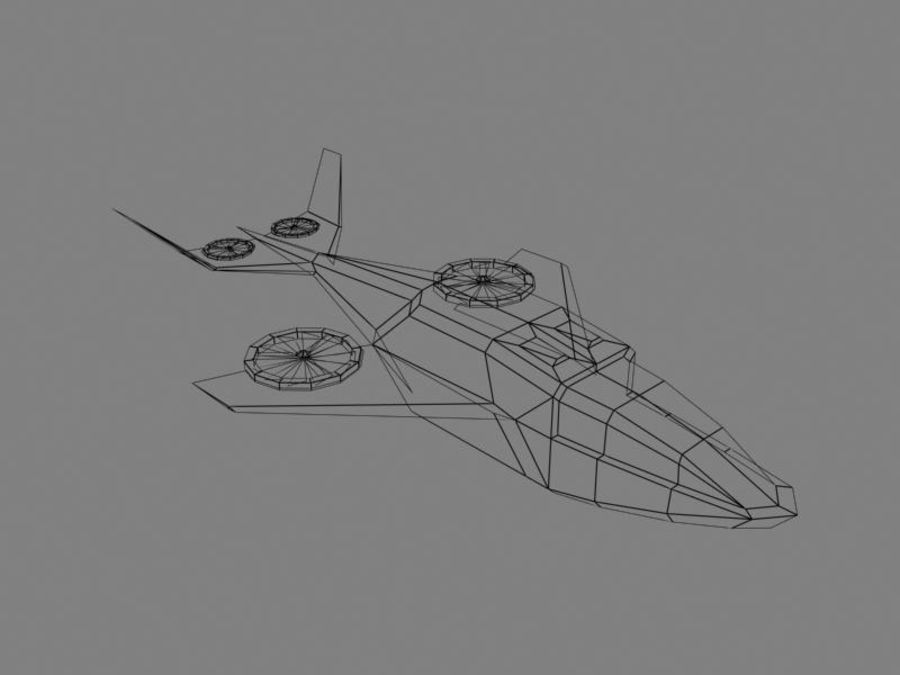 Dragonfly royalty-free 3d model - Preview no. 4