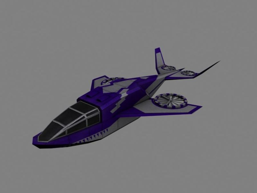 Dragonfly royalty-free 3d model - Preview no. 1