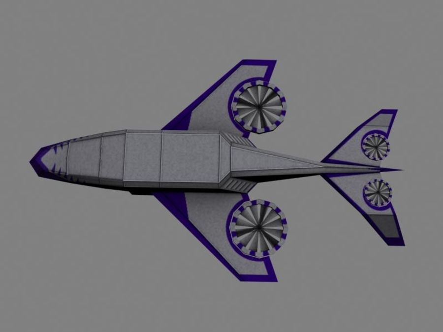 Dragonfly royalty-free 3d model - Preview no. 3