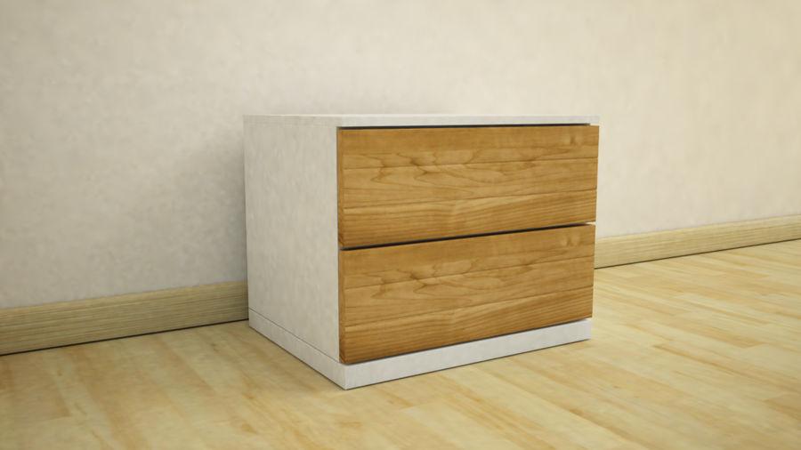 フルベッドルーム家具 royalty-free 3d model - Preview no. 5