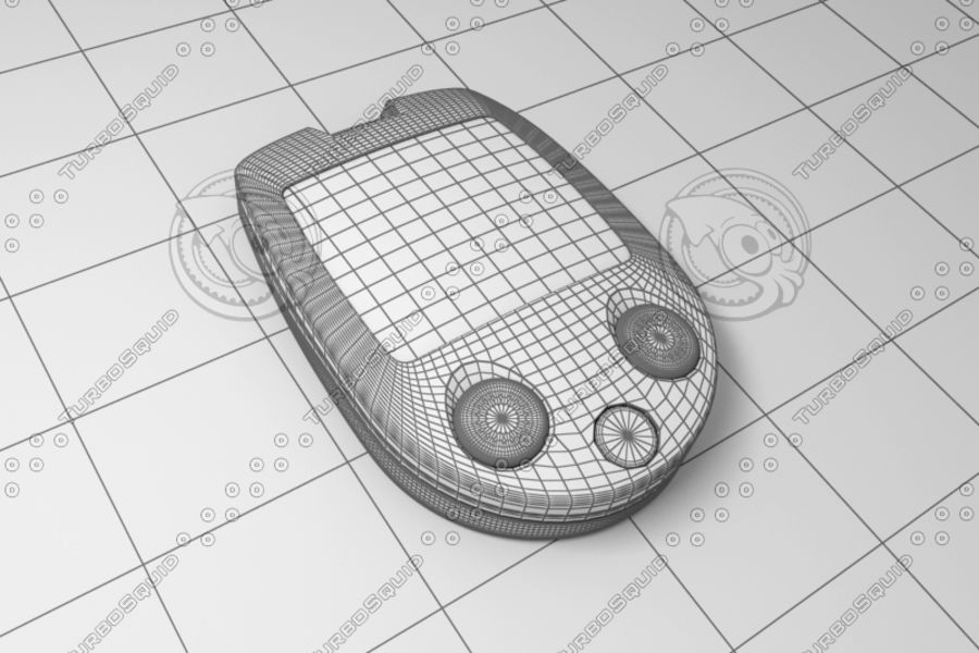 Electronics device royalty-free 3d model - Preview no. 4