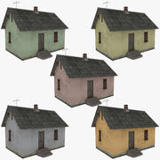Cottage one collection 3d model