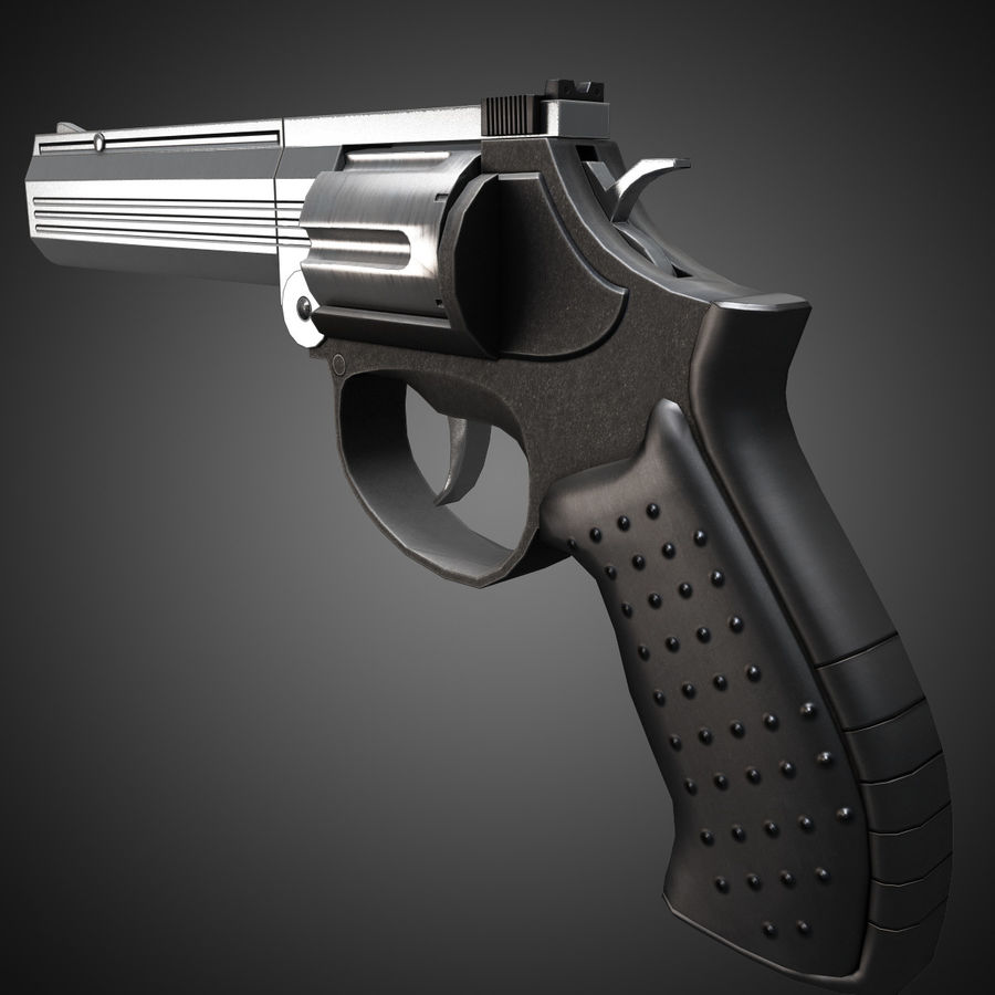 MP412 REX royalty-free 3d model - Preview no. 4