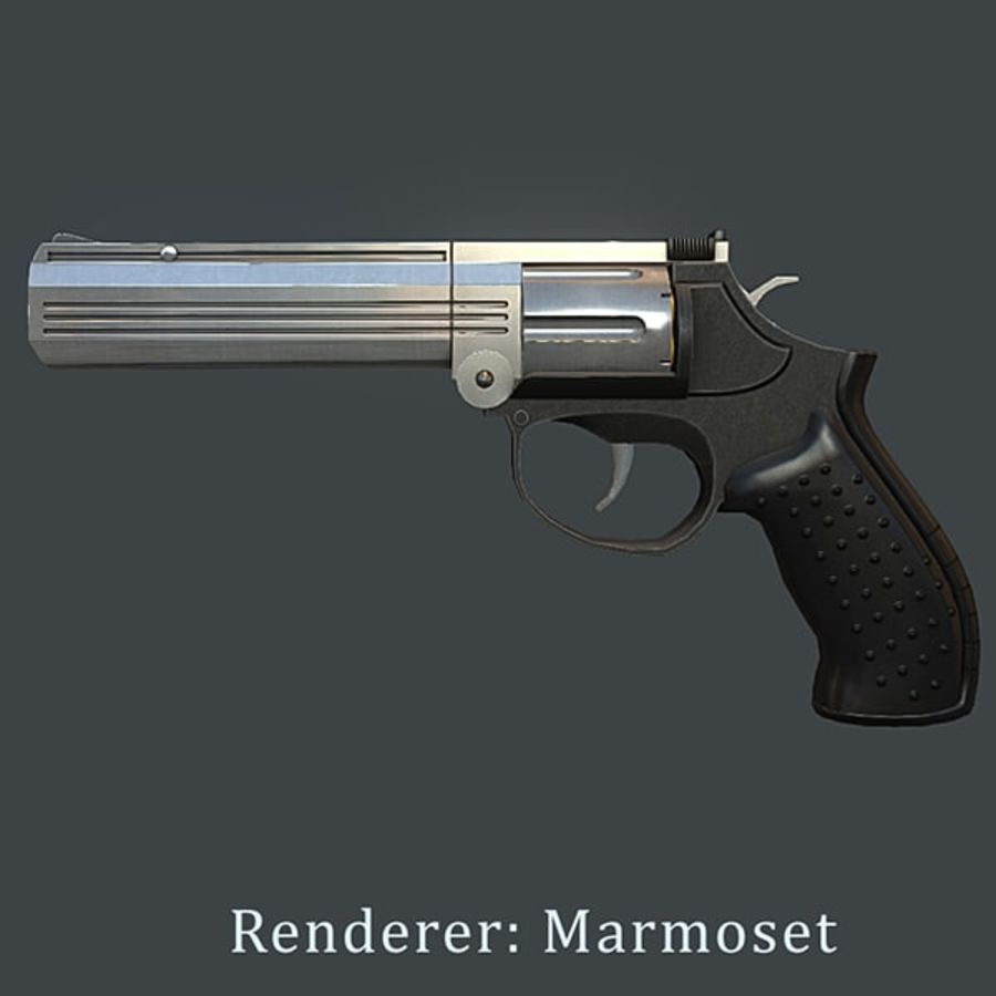 MP412 REX royalty-free 3d model - Preview no. 13