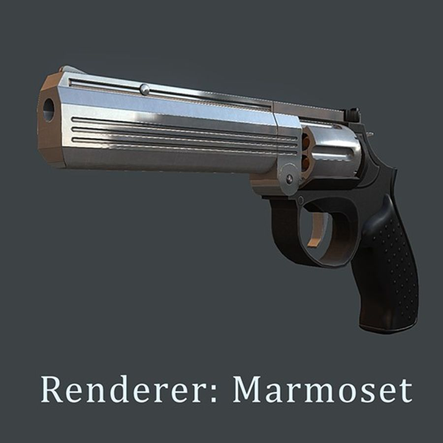 MP412 REX royalty-free 3d model - Preview no. 11