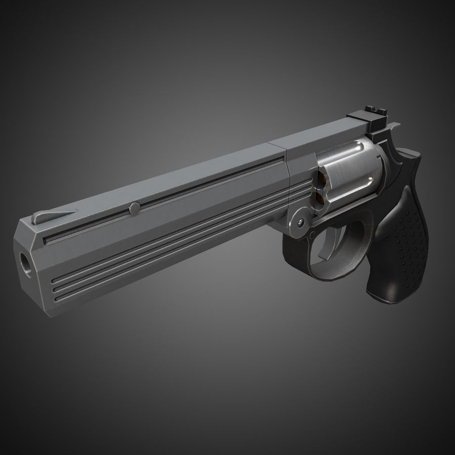 MP412 REX royalty-free 3d model - Preview no. 3