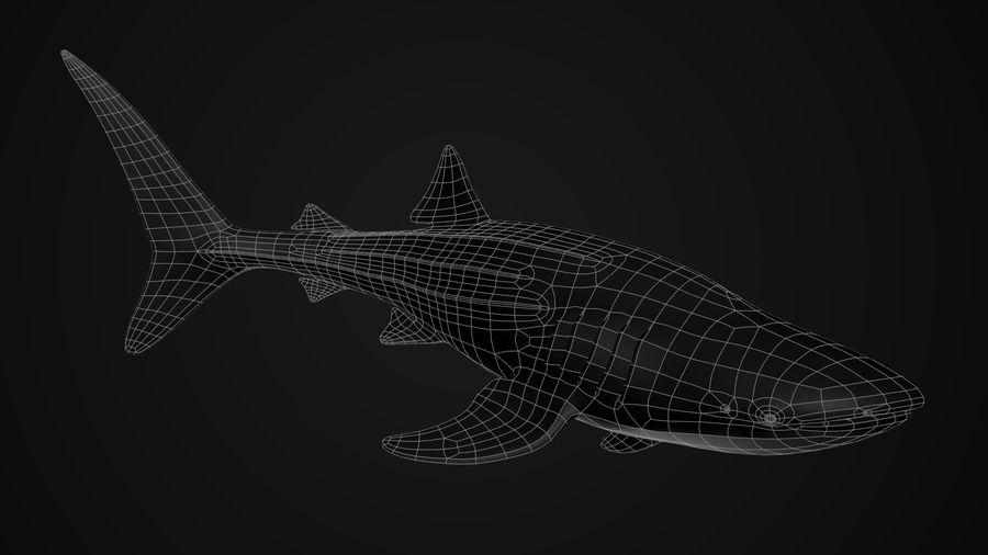 Squalo balena royalty-free 3d model - Preview no. 8