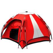 палаточный лагерь 2 3d model
