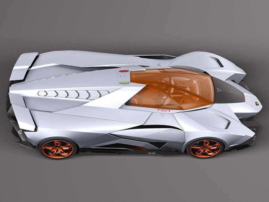 Lamborghini Egoista Kavrami 3d Model 149 C4d Max Obj Lwo Fbx