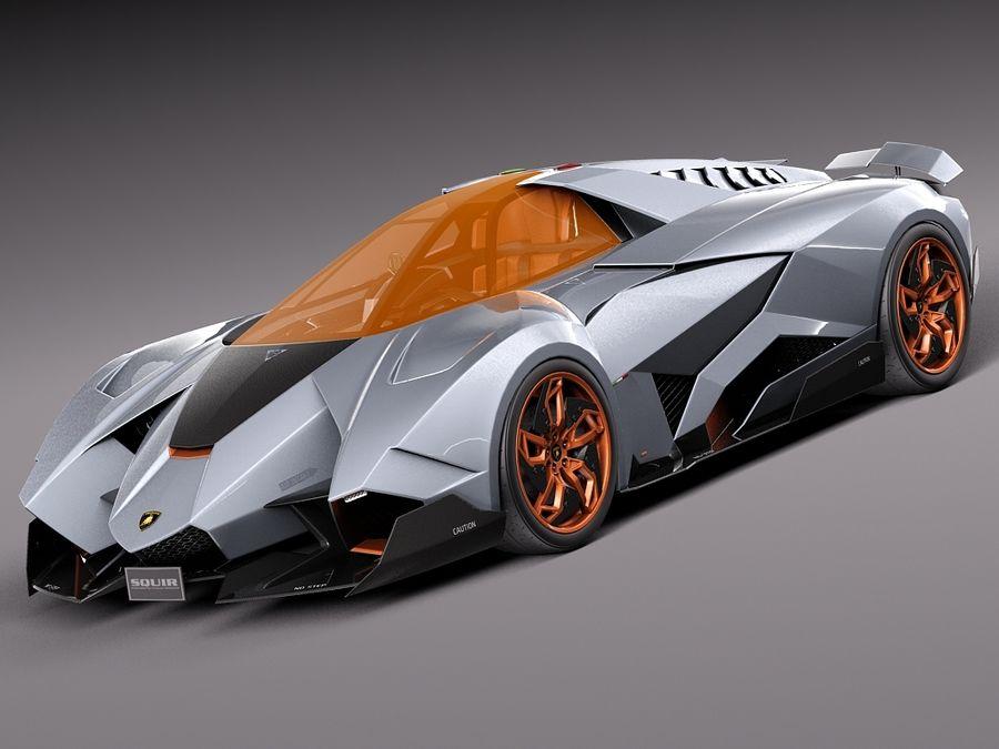 2017 Lamborghini Egoista Price >> Lamborghini Egoista Concept 3D Model $149 - .obj .max .lwo .fbx .c4d .3ds - Free3D