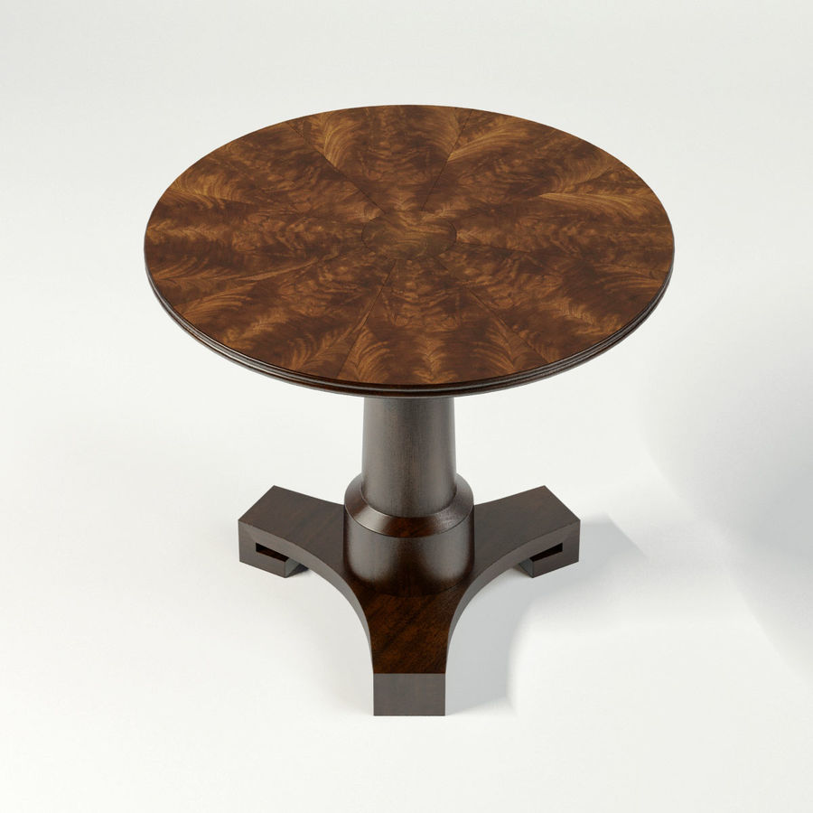 Adams Side Table Royalty Free 3d Model   Preview No. 5