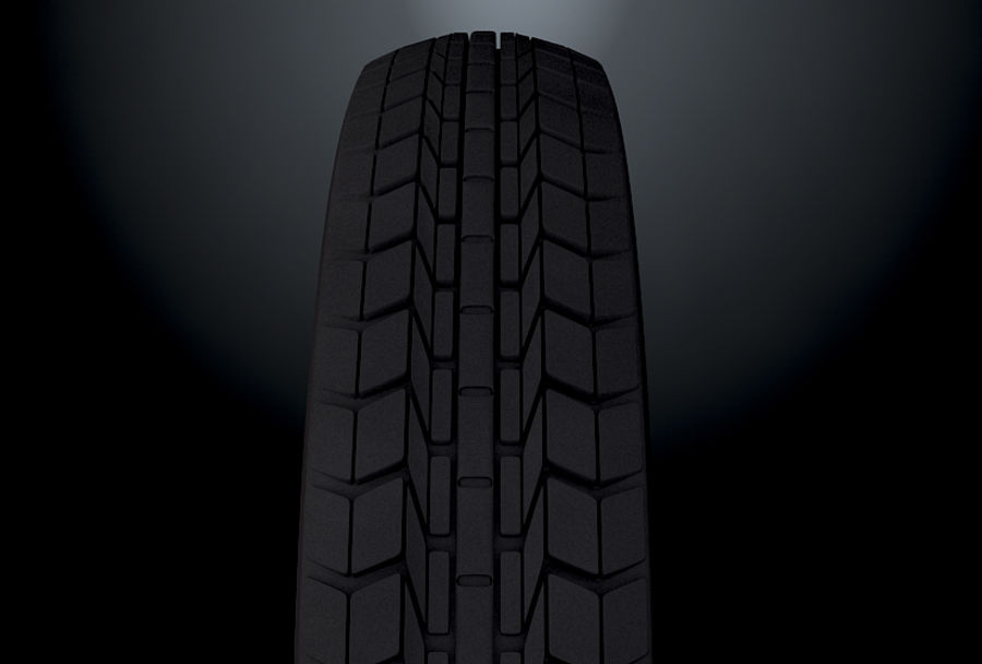 Moto Tyre royalty-free 3d model - Preview no. 5