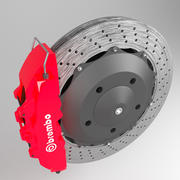 Disc Brake and Caliper 3d model