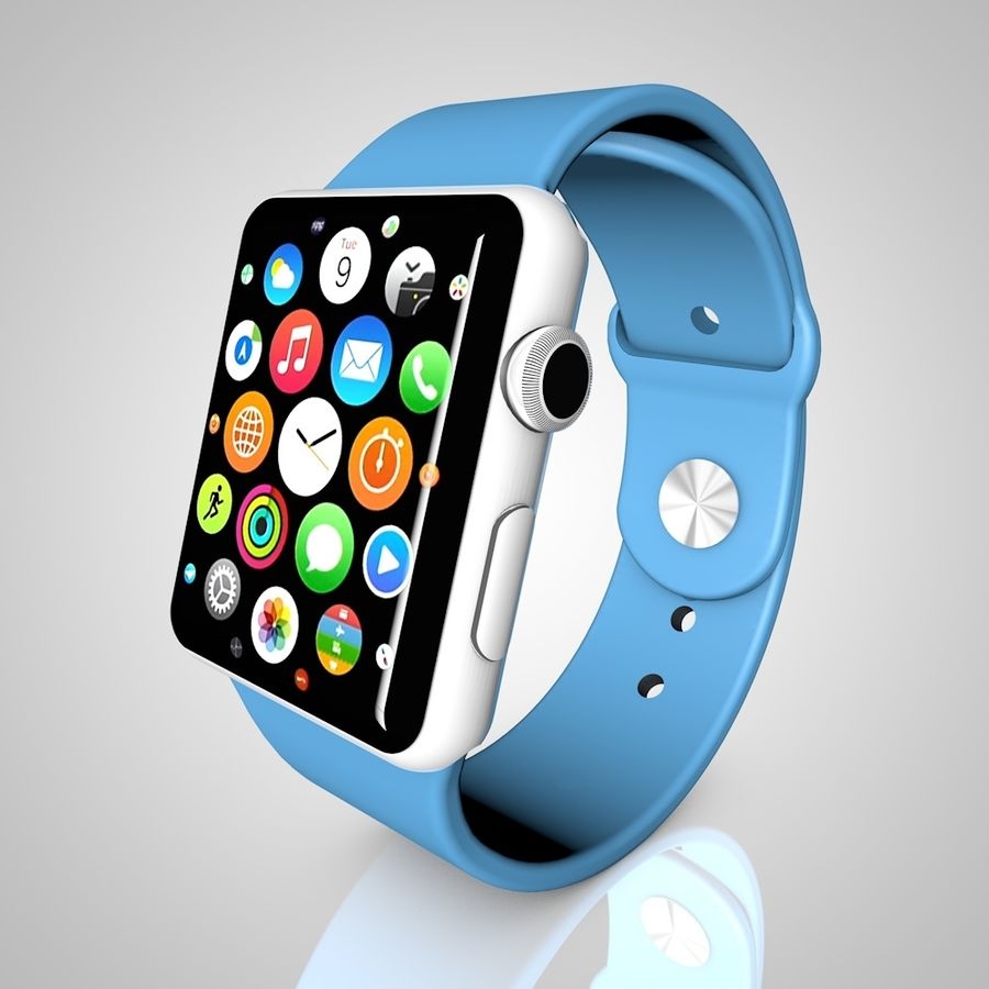 Apple Watch royalty-free 3d model - Preview no. 1
