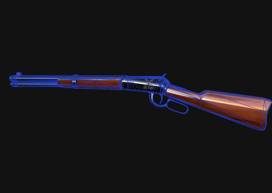 Soul reaper  rifle royalty-free 3d model - Preview no. 6