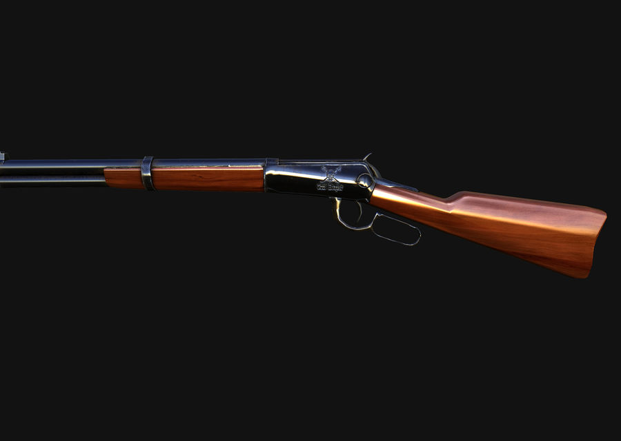 Soul reaper  rifle royalty-free 3d model - Preview no. 1