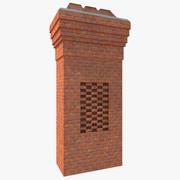 Chimney 4 3d model