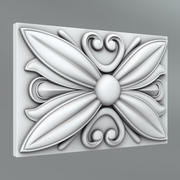 Square Decoration 16 3d model