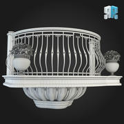 Balcony 007 3d model